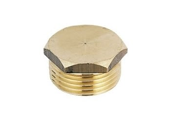 "069012 - PLUG FIG.290 1/8"" THREADED BRASS - VCT - 2"