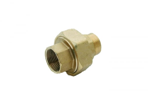 "081002MH - COUPLING FIG.341  1/2"" THREADED BRASS - SOBIME - 1"