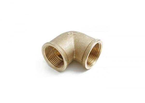 "067001 - ELBOW FIG.90 3/8"" THREADED BRASS - SOBIME - 1"