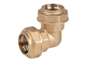 005204 - COUDE 90º 20MM. FITTING LATON - GENEBRE - 2