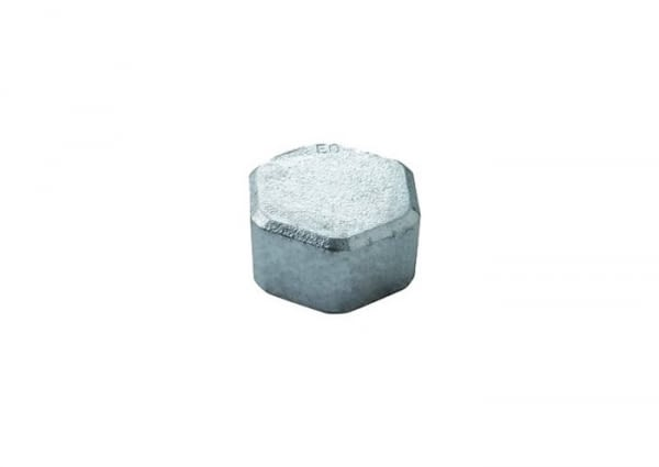 "30011002 - BLACK IRON HEXAGON HEAD CAP FIG. 300 3/8"" - ATUSA"